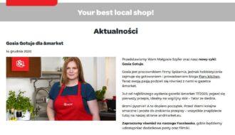 AndMarket - informacja cykl Gosia gotuje